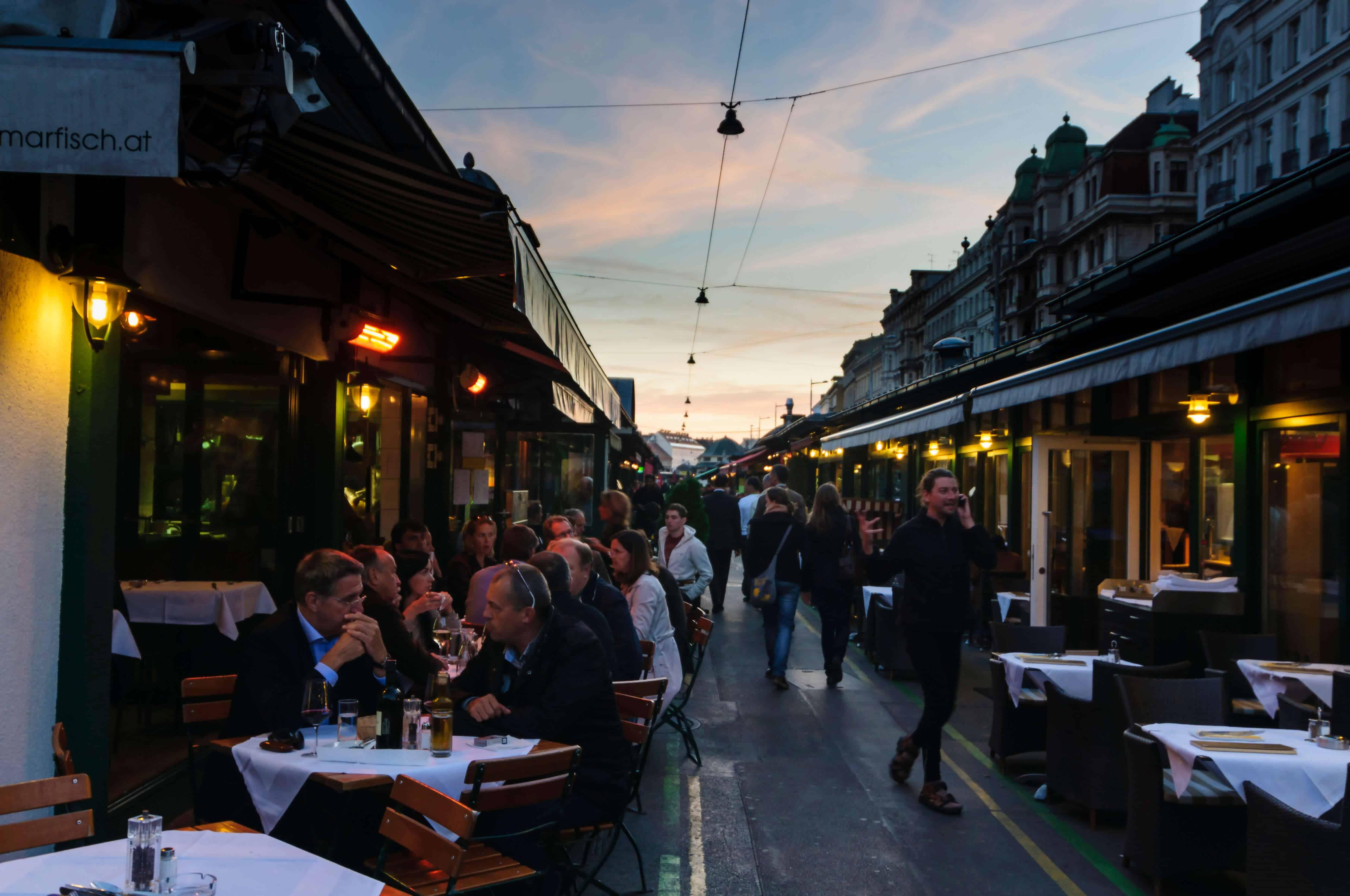 Naschmarkt, Wien Sehenswürdigkeiten