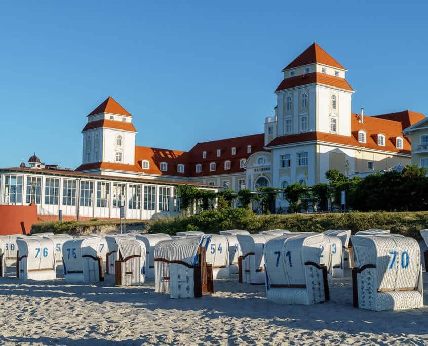 Binz Rügen Sandstrand - Meer
