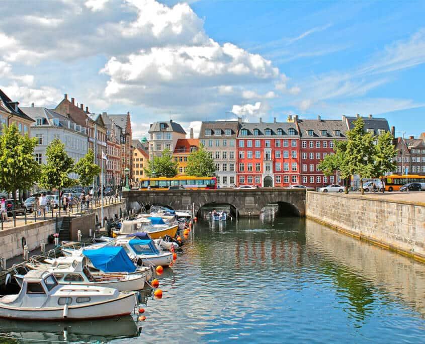 Fluss durch Copenhagen