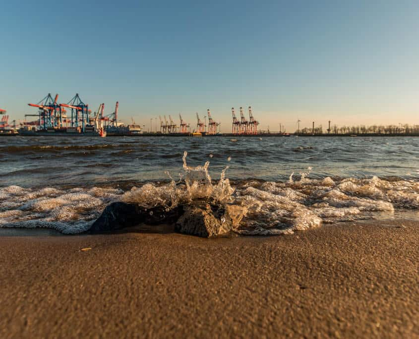 Hamburg - Meer Strand