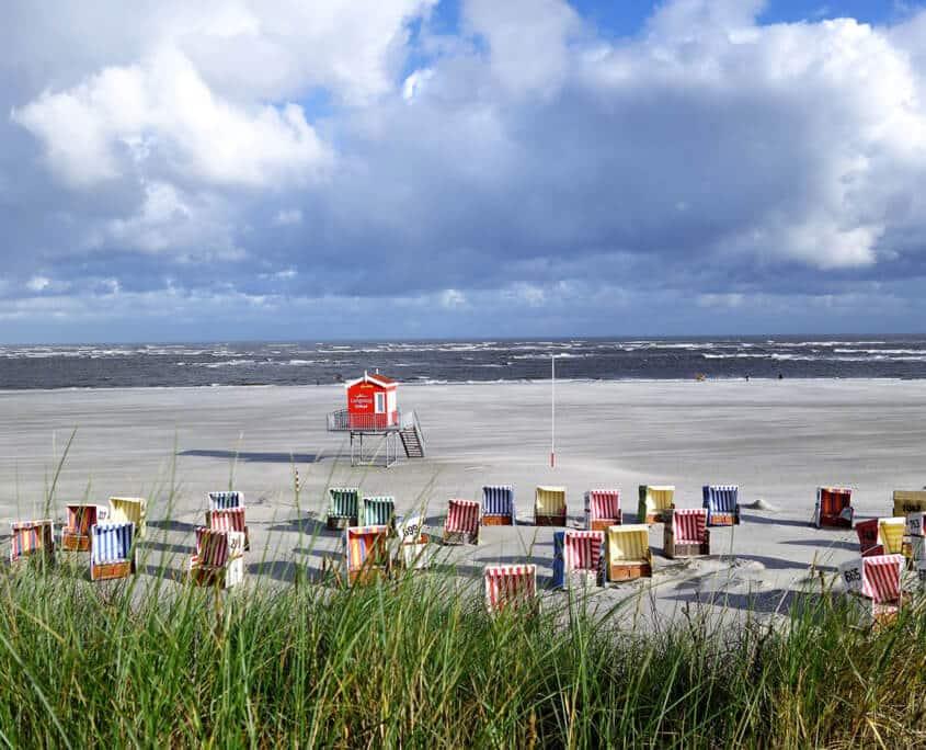 Langeoog - Meer, Strand