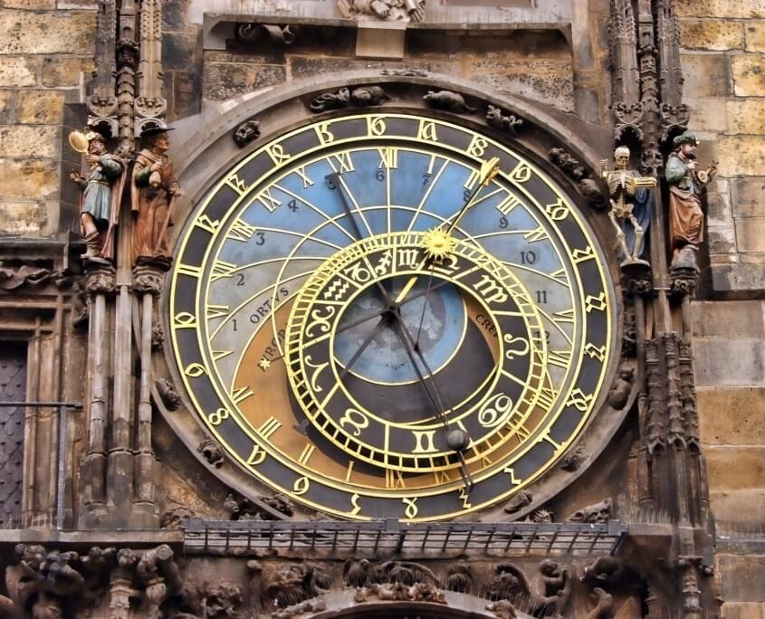 Kirchenuhr Prag
