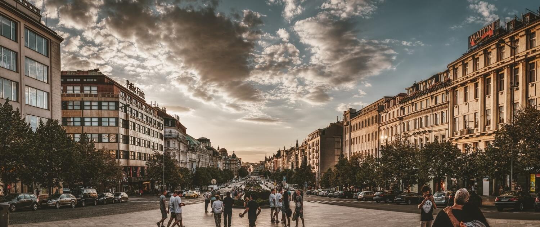Der Wenzelsplatz: Sehenswürdigkeiten Prag