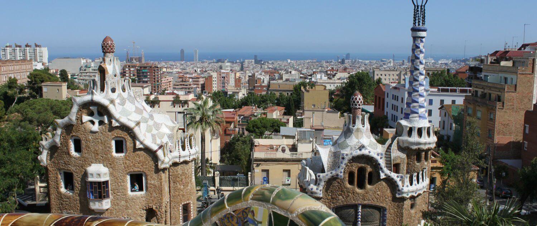 Aussicht über Barcelona