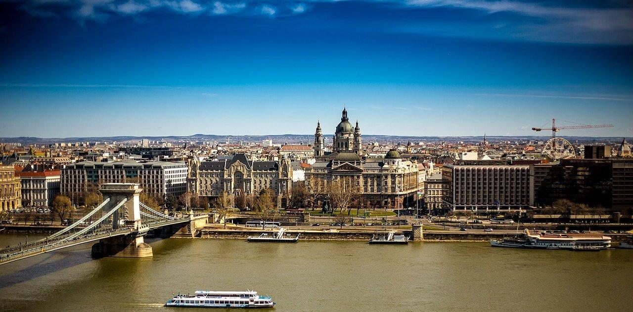 Aussicht über Budapest