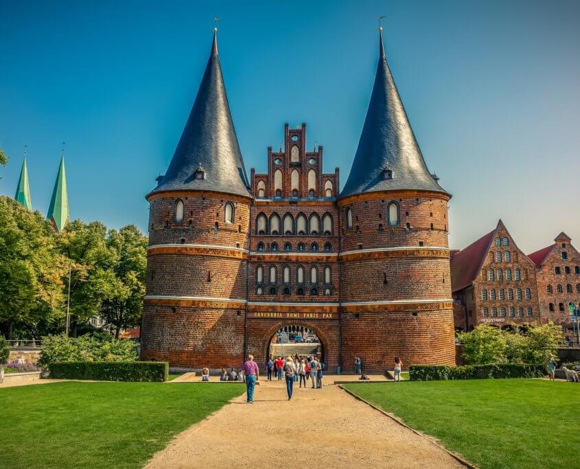 Holstentor in Lübeck