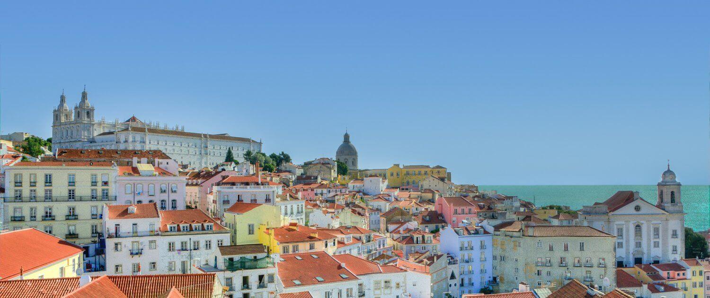 Aussicht über Lissabon