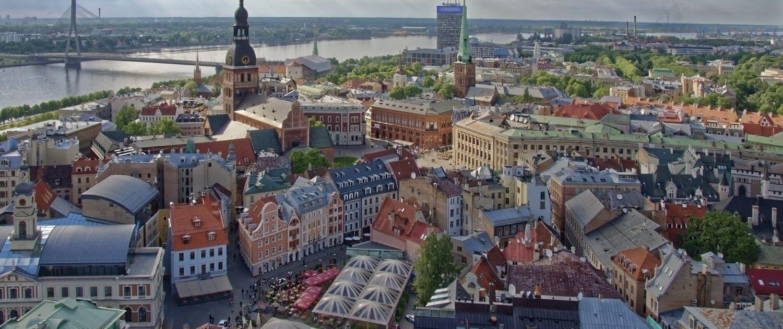 Aussicht über die Altstadt Riga
