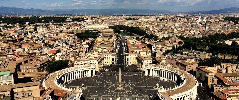 Aussicht über Rom