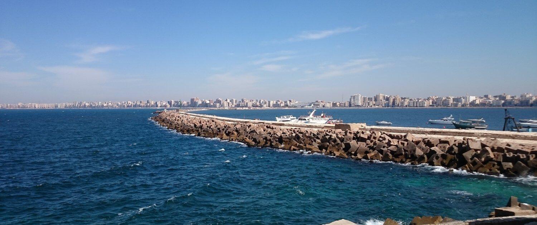 Hafen von Alexandria