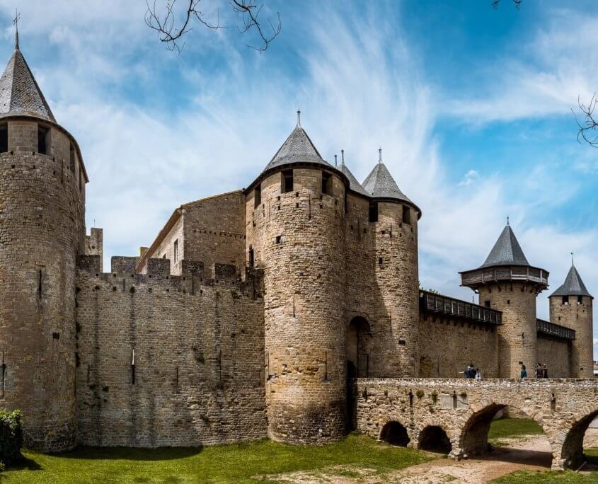Festung Cité von CarcassonneFrankreich