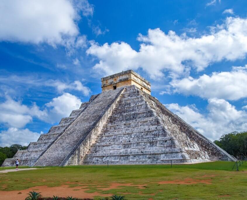 Maya-Ruinen Chichén Itzá in Mexiko