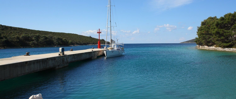 Insel Molit Kroatien