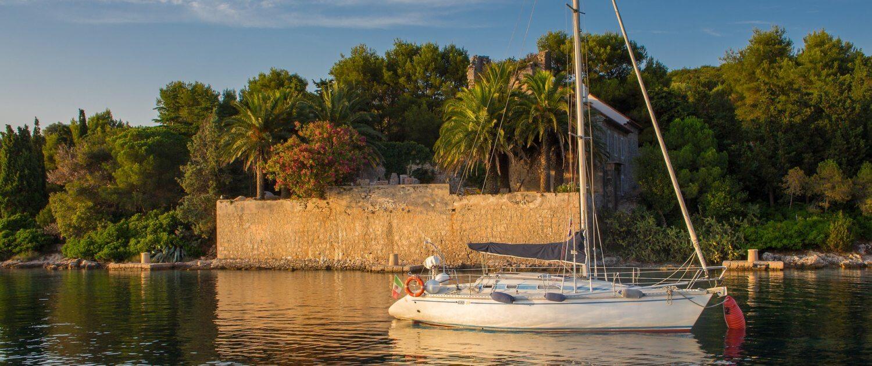 Insel Olib Kroatien