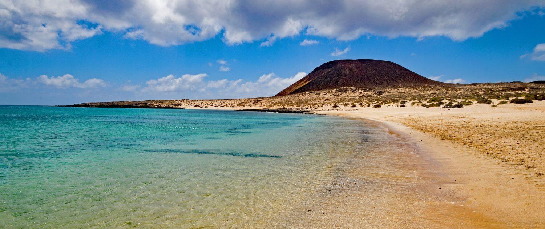 Insel La Graciosa Strand