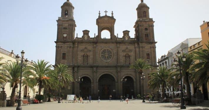 Innenstadt des Hauptortes Las Palmas auf Gran Canaria