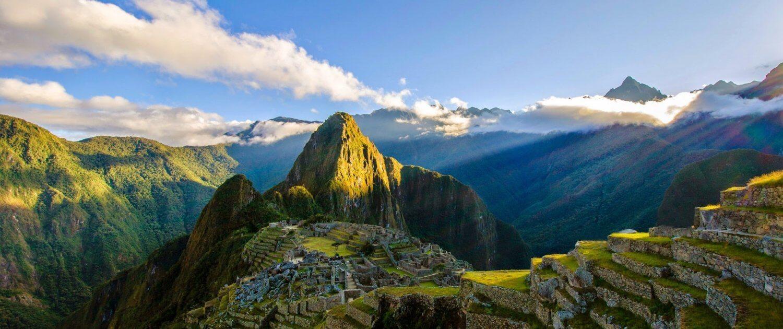 Inkastadt Machu Picchu in Peru