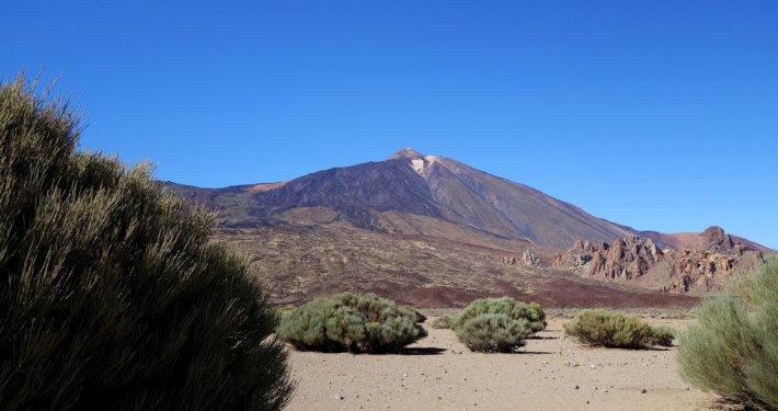 Mountain Pico del Teide auf Teneriffa