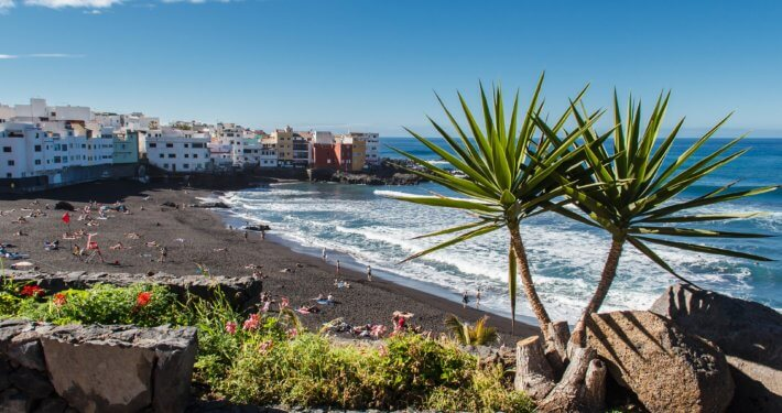 Urlaubsort Puerto de la Cruz auf Teneriffa