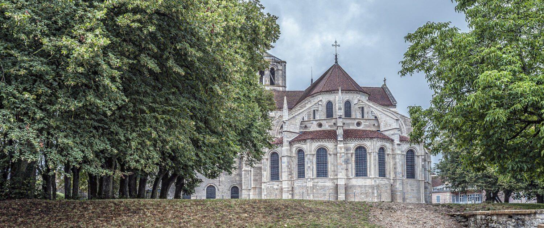 Kirche in Vézelay Frankreich