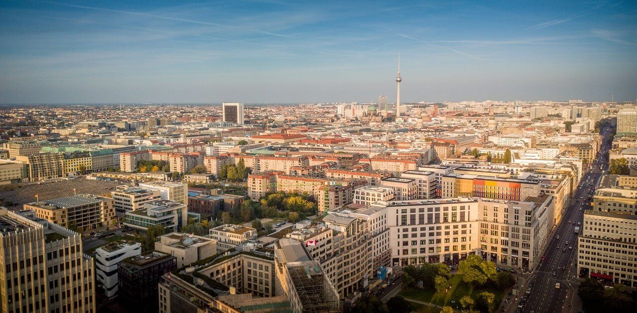 Ausblick über Berlin
