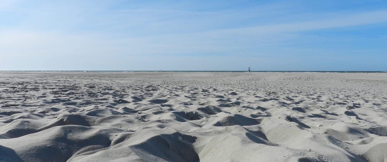 Sandstrand auf Juist
