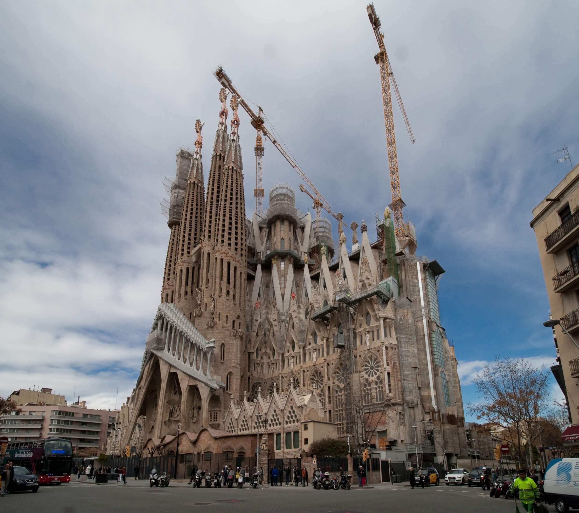 Spanien Sehenswürdigkeiten Sagrada Família