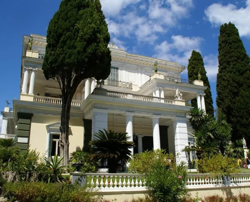 Achilleion von Kaiserin Elisabeth auf Korfu