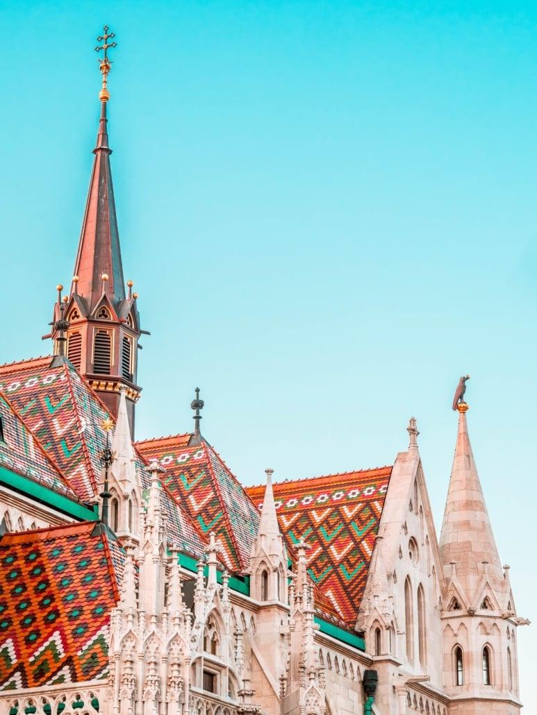 Matthias Church, Budapest, ungarn