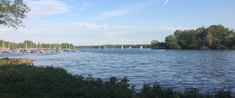 Aussicht auf den Unterbachersee