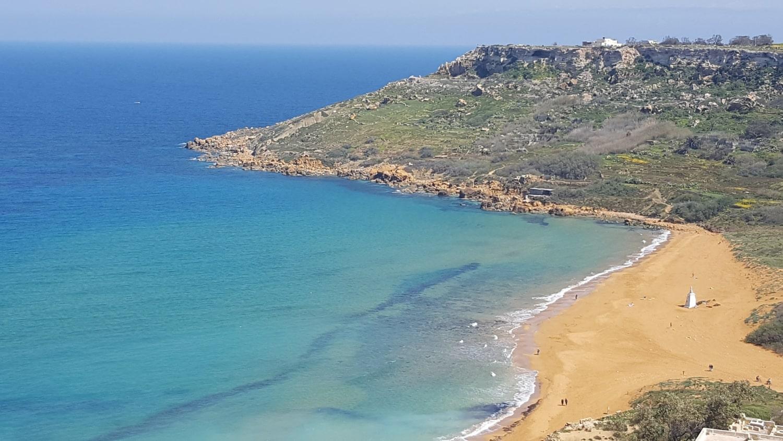 Malta Strände Malta Insel