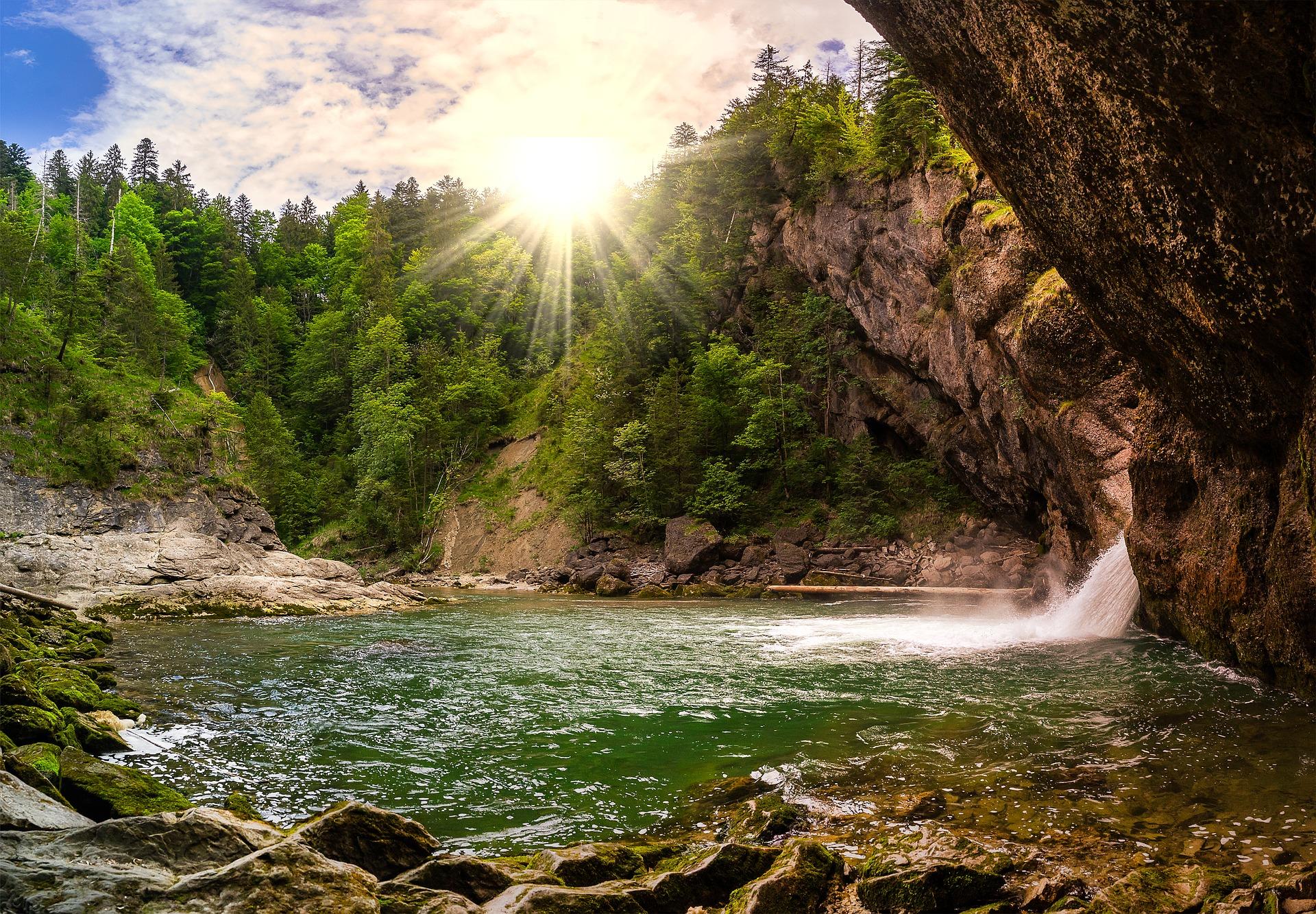 Wasserfall in Deutschland größten Wasserfälle in Deutschland