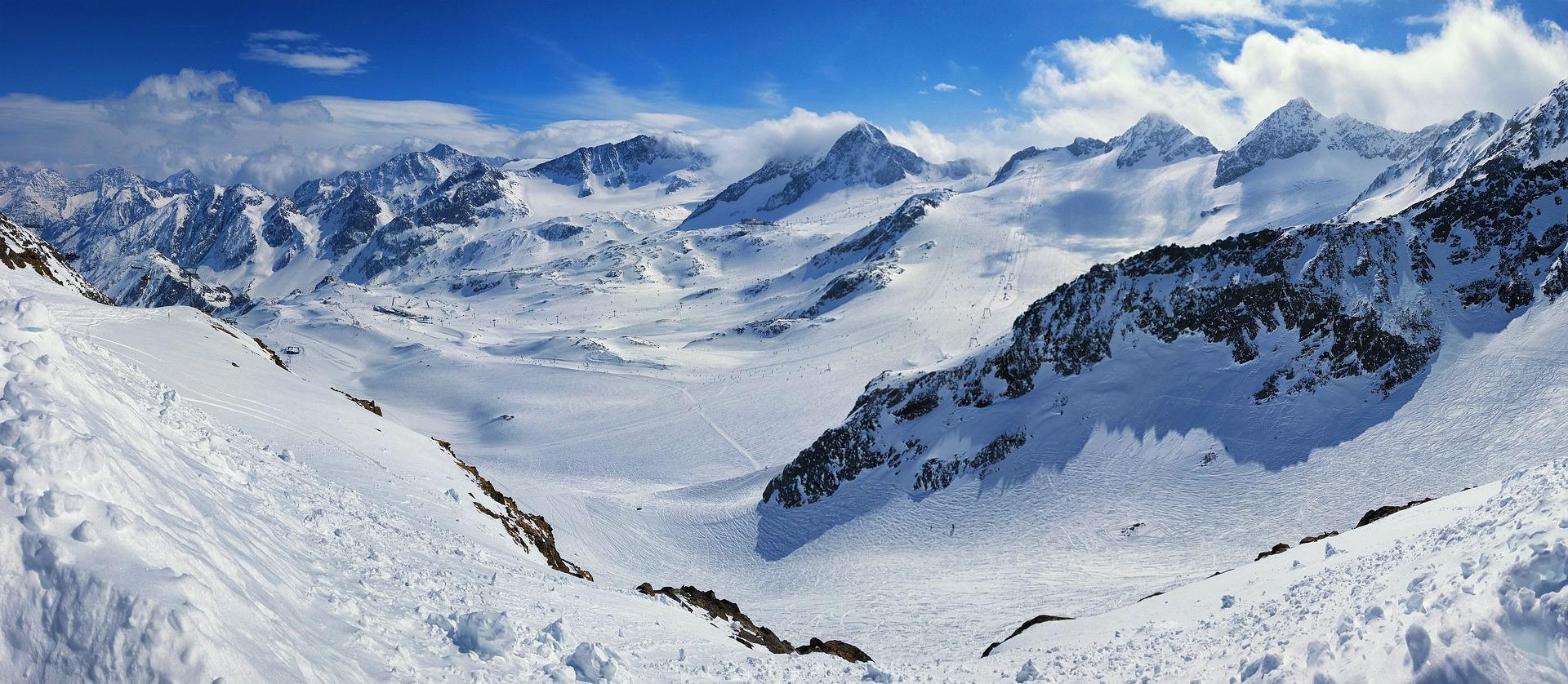 Gletscher Österreich Gletscherskigebiete Österreich