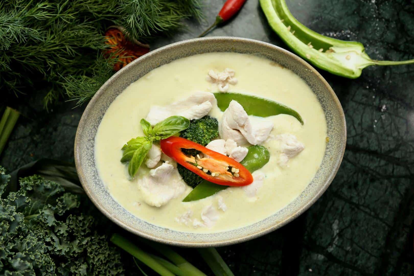 Grünes Thaicurry – Thailändische Spezialitäten zum Nachkochen