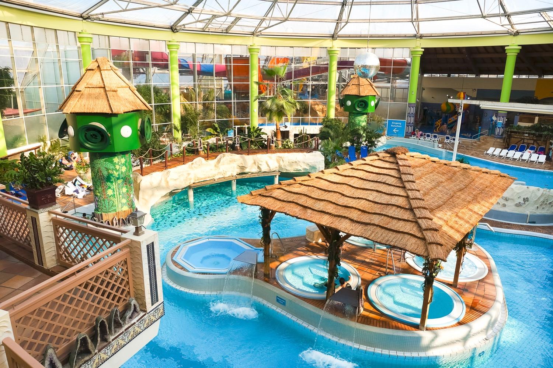 Innenbereich Aqualand Köln Erlebnisbad NRW