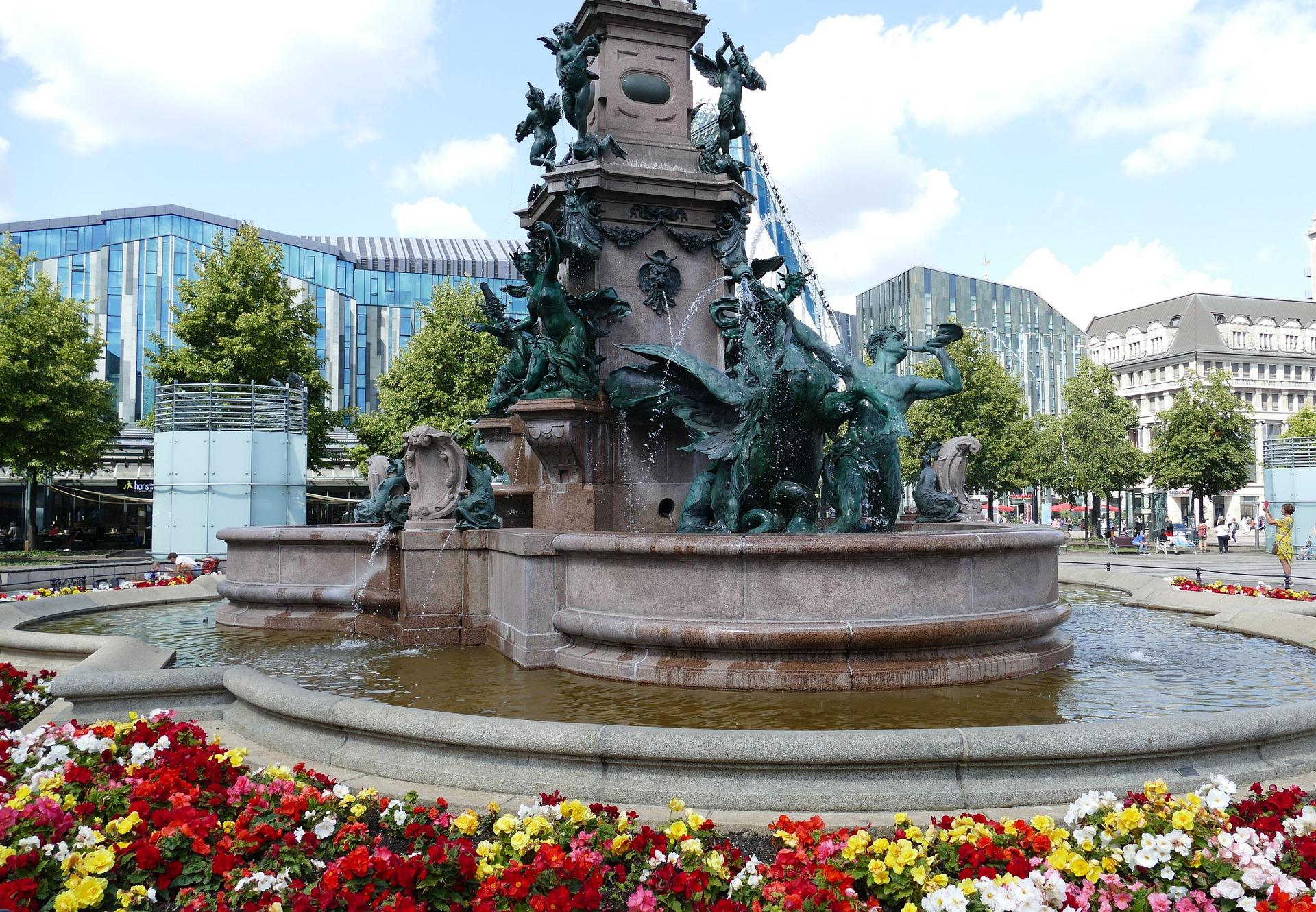 Leipzig Sehenswürdigkeit: Mendebrunnen