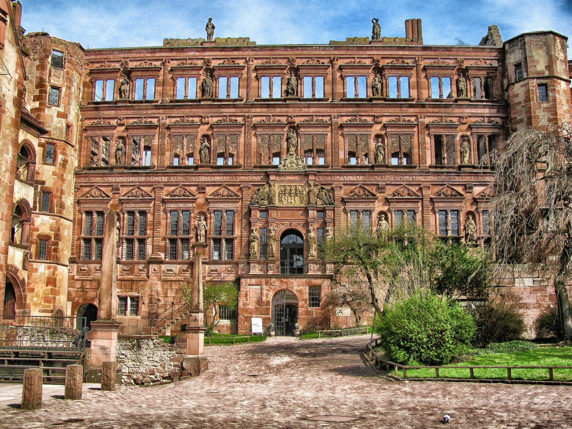 deutsches Heidelberg Deutsches Apothekenmuseum Historisches Gebäude Schloss