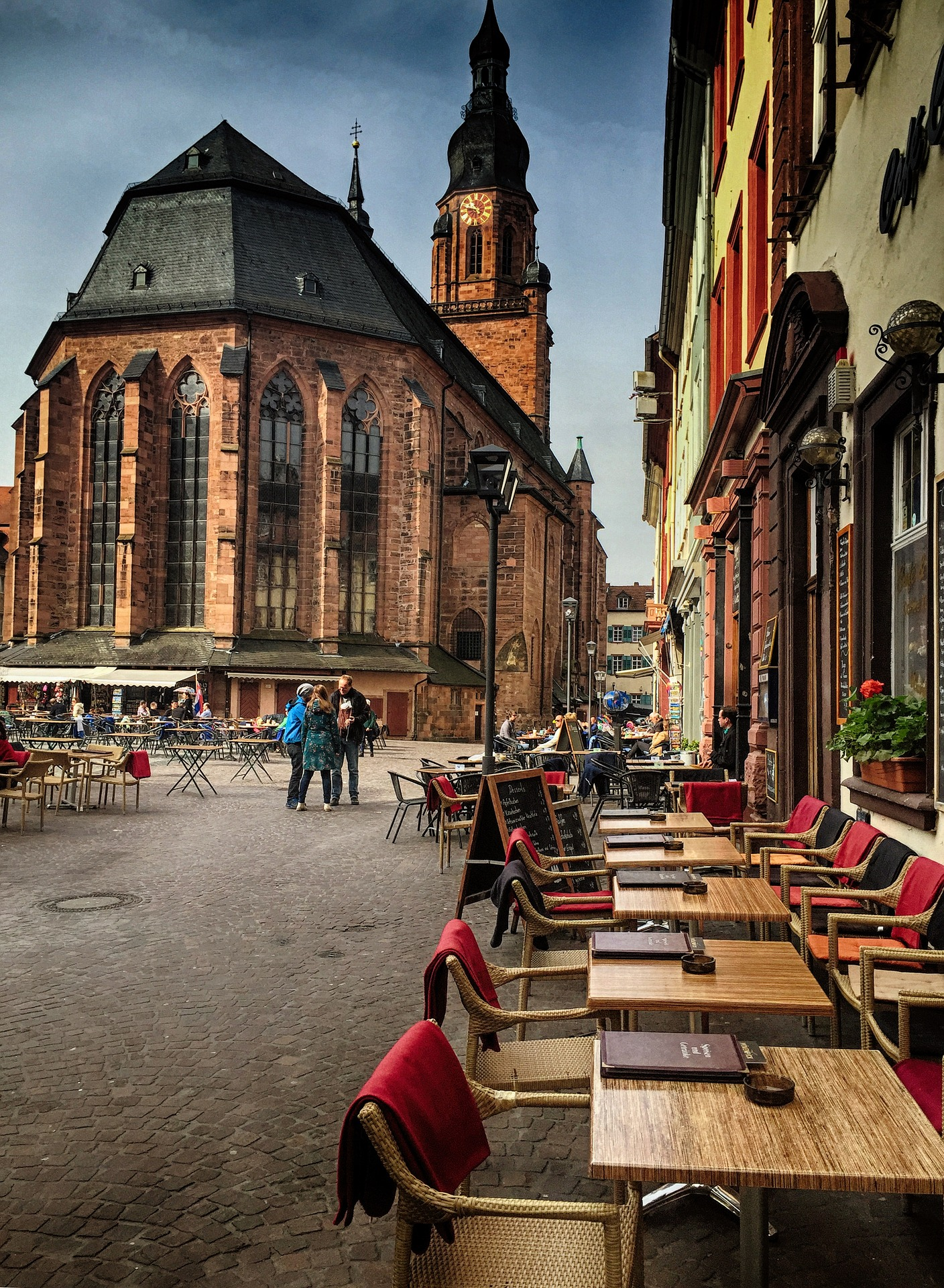 Heiliggeistkirche in Heidelberg