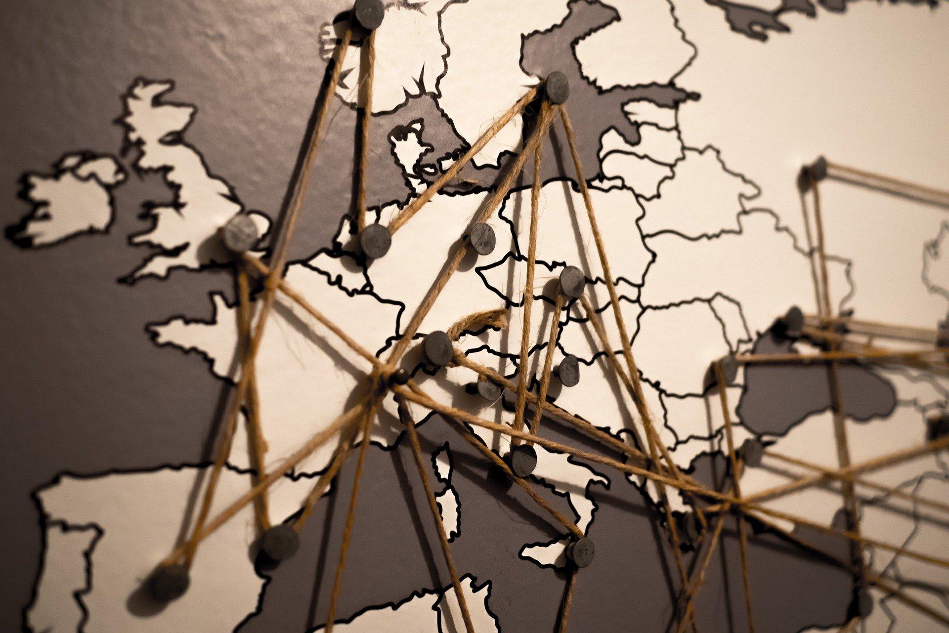 Europareise Route planen