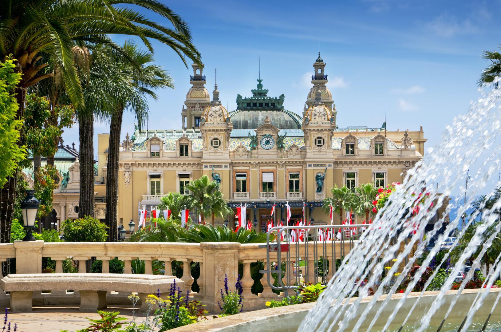 Die historische Spielbank von Monte-Carlo.