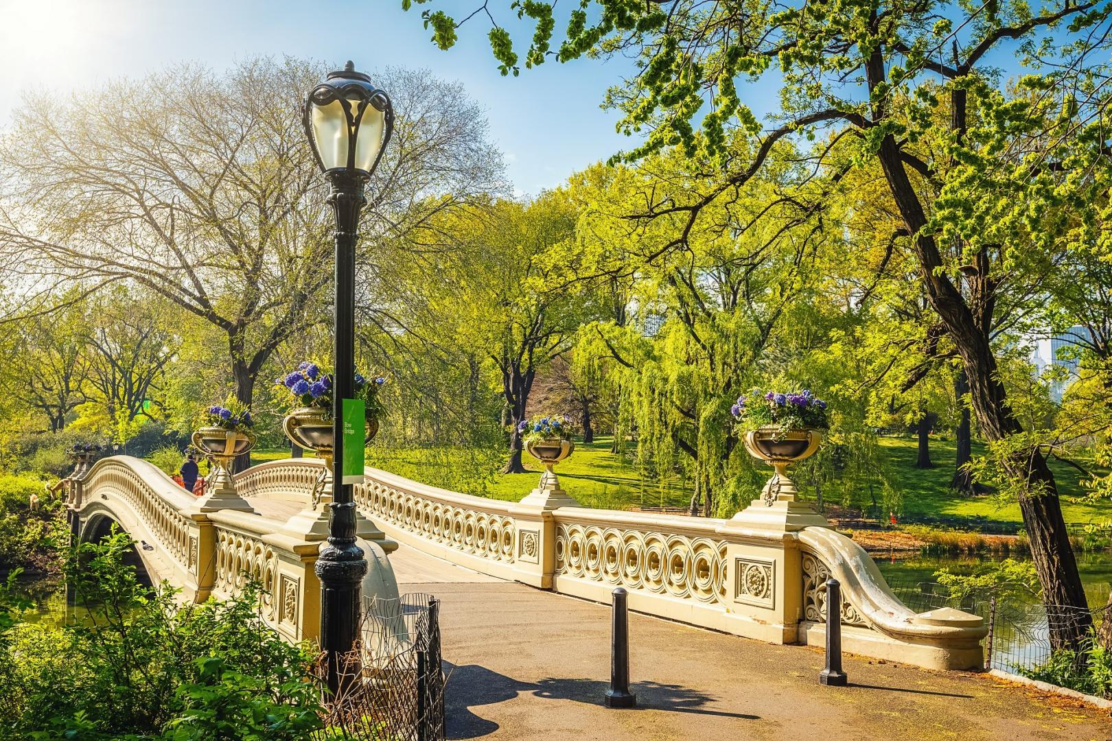 Bow Bridge im Central Park New York