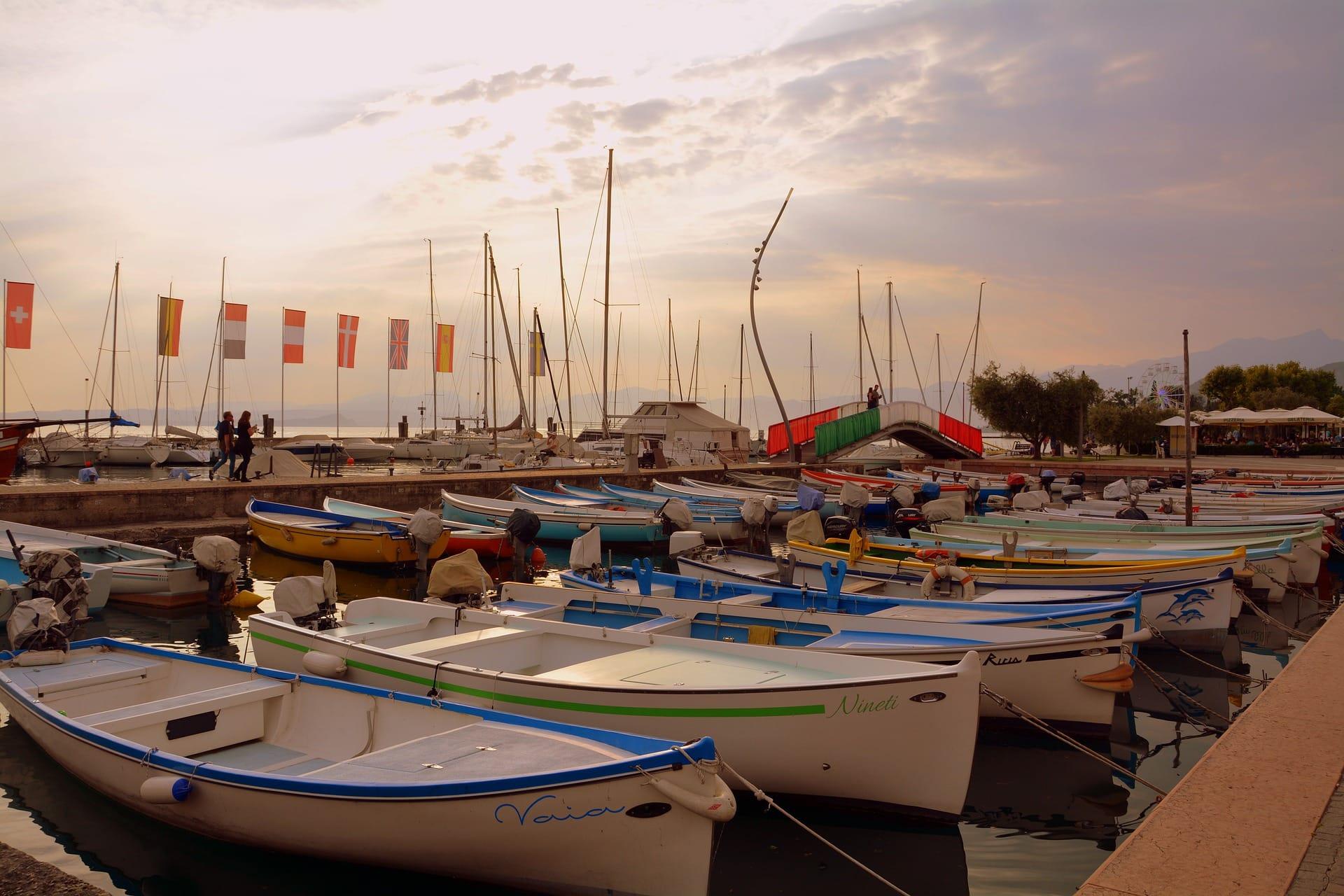 Porto Bardolino am Gardasee