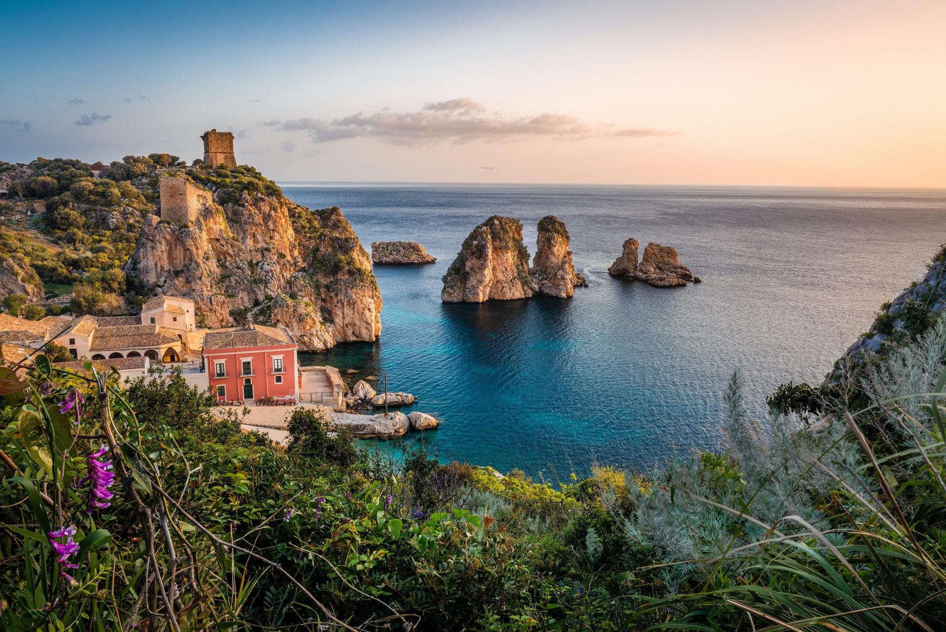 Tonnara di Scopello, Scopello, Castellammare del Golfo, Italy