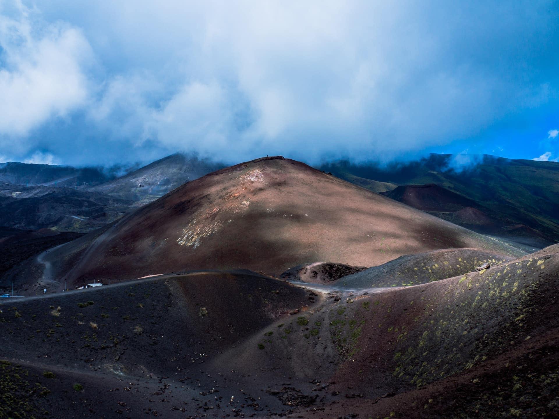 Vulkan Ätna Sizilien Italien