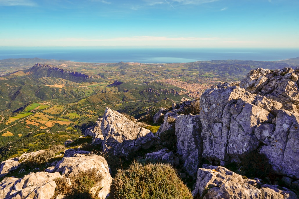 Monte Albo, Lodè, Nuoro,Sardinien, Italien_edited