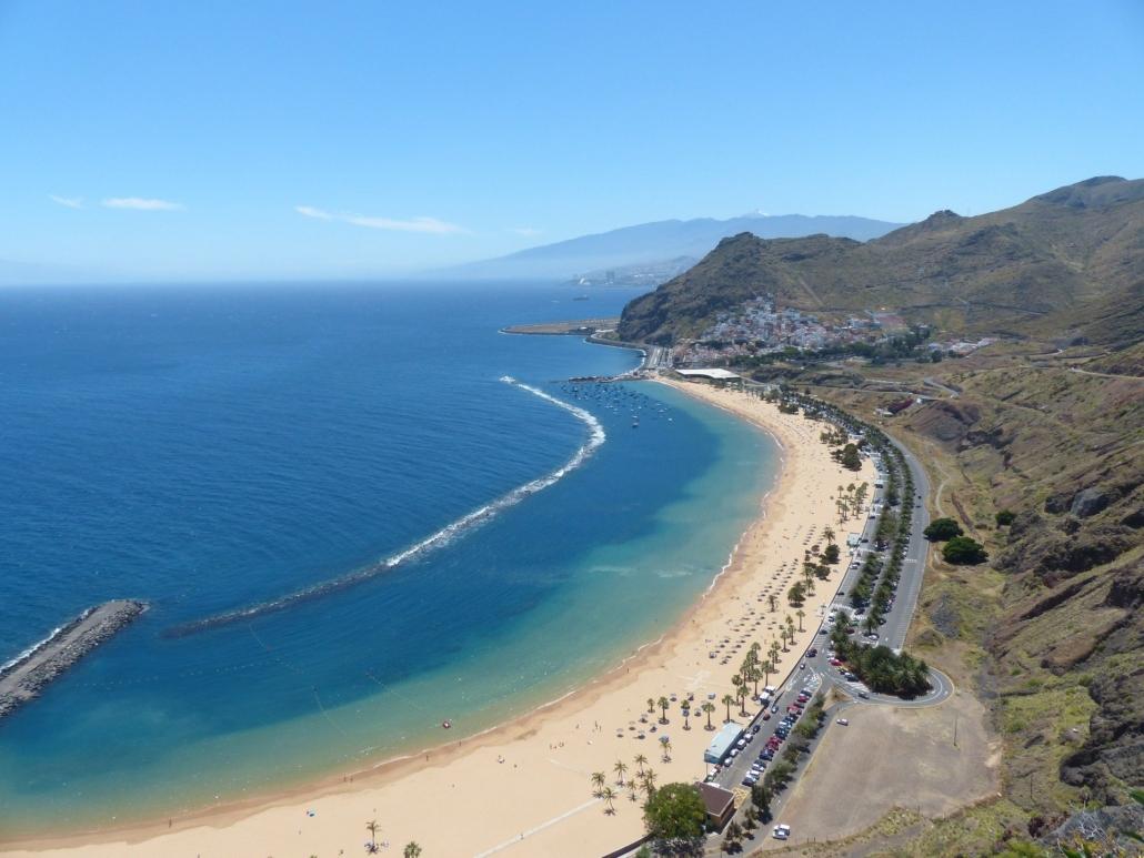 Playa de las Teresitas - beliebtester Strand auf Teneriffa