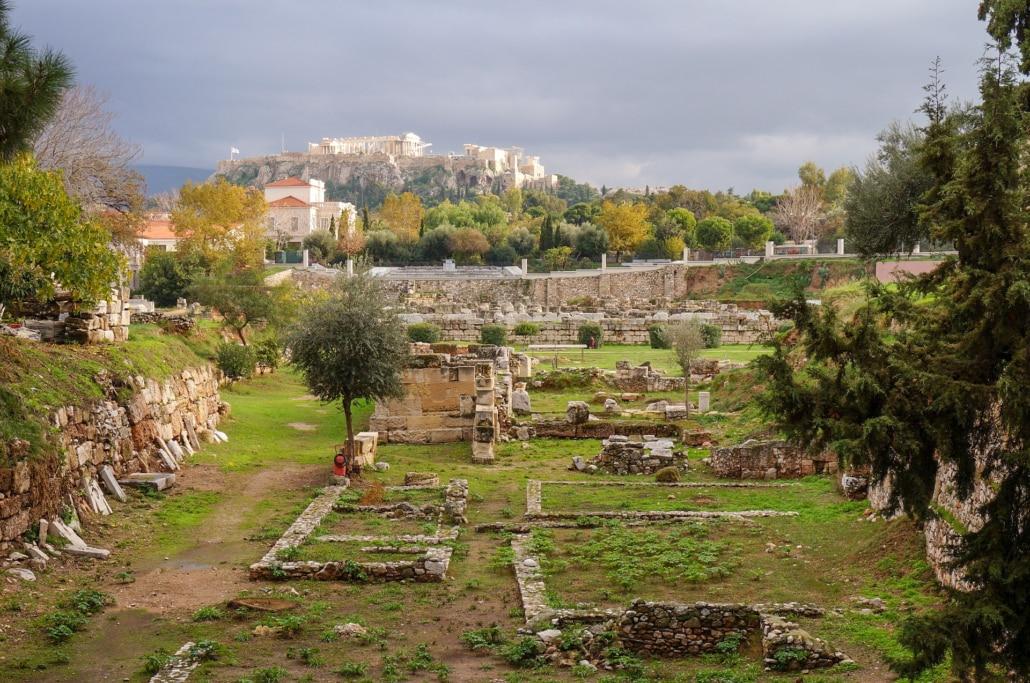 Athen Friedhof von Kerameikos