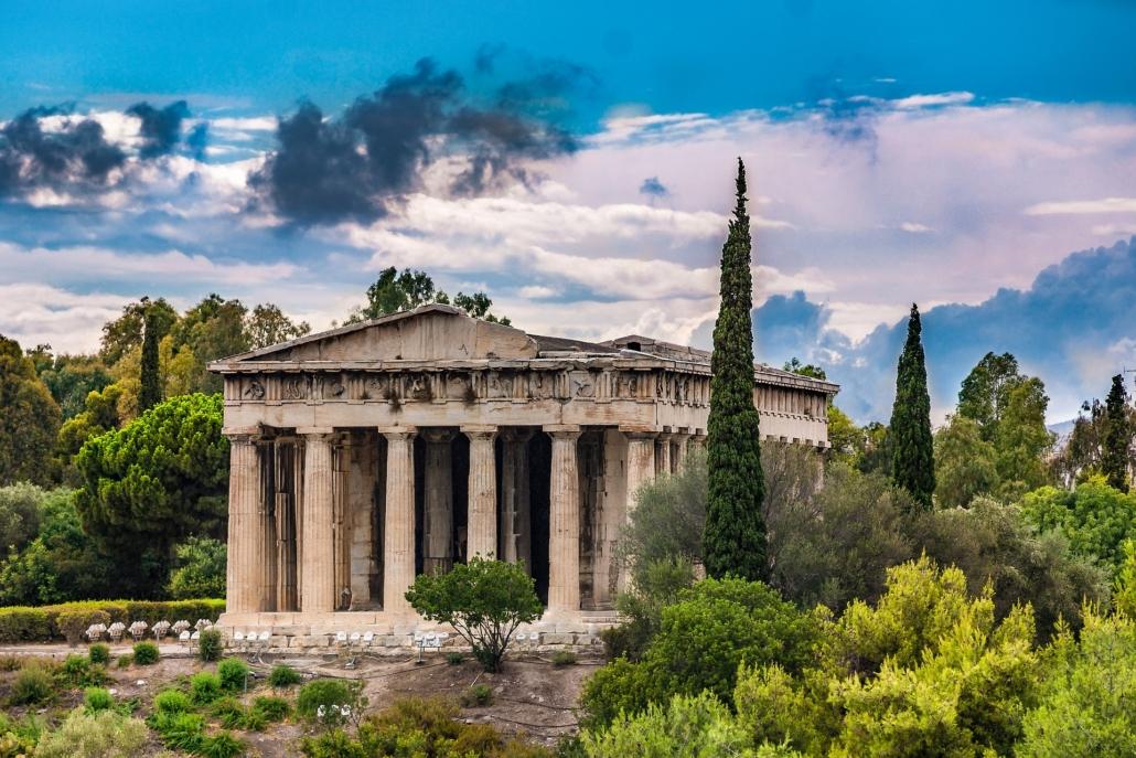 Athen Tempel des Hephaistos