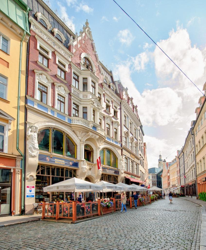 Altstadt in Riga Lettland