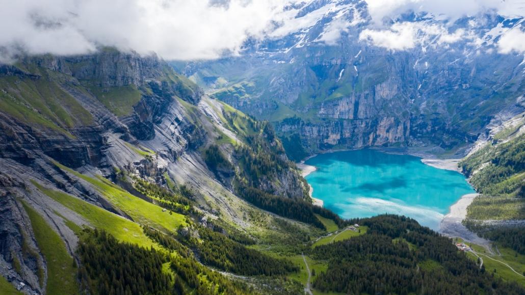 Bergseen in der Schweiz